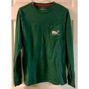 Vineyard Vines Green Long Sleeve Shirt